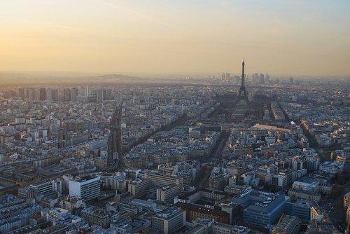 Parijs uitzicht Montmartre