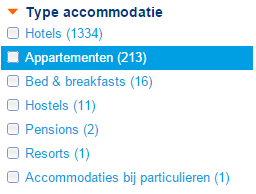 zoek een appartement in Parijs