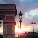 arc-de-triomphe-zonsondergang